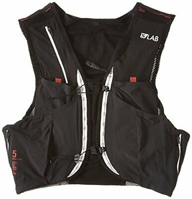 [Salomon] backpack S / LAB SENSE ULTRA 5 SET M size Black / Racing Red