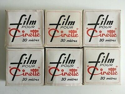 LOT 6 films pour projecteur Cinette