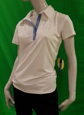 Sea-Doo Brp Ladies Flower Polo Shirt White Small