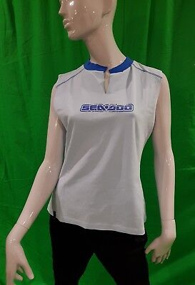 Sea-Doo Brp Ladies Tuscadero Sleeveless T-Shirt Extra Large