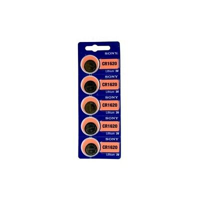 AU BL200-1x Sony CR1620 / DL1620 3V Lithium button cell battery 1x Blister