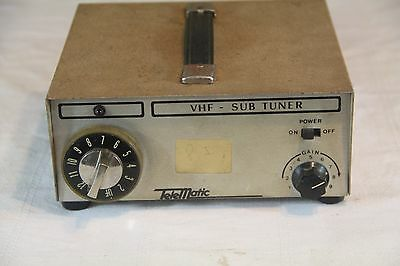 Vintage 1960's TELEMATIC Solid VHF IF - Out Channel TV Serviceman Tool
