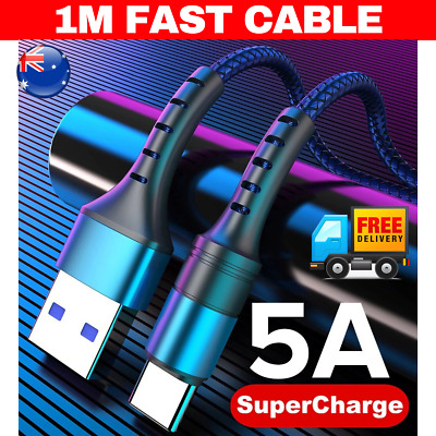1m Type-C 3.1 USB-C Male Data FAST Snyc 1 meter Charging Cable Samsung ipad