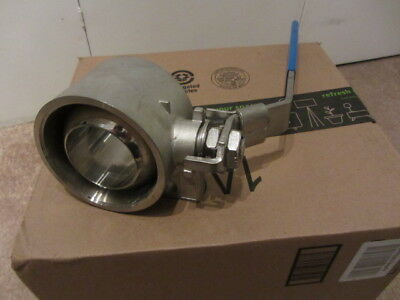 "Valex Stainless Steel Ball Valve CF8M 2.5"" New Surplus"