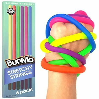 BUNMO Stress Relief Toys for Special Needs Children - Stretchy Sensory Toys