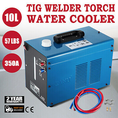 Tig Welder Torch Water Cooler 10L Tank Miller Quick Couplers PRO CE APPROVED