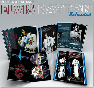 Elvis Presley Box Dayton Reloaded Book 100 Pag 2Cd Boxset Limited Out Of Print