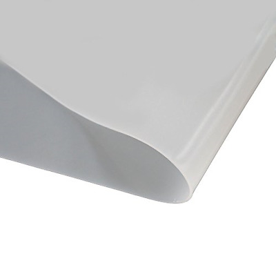 White Silicone Rubber Sheet 1.0mm Thickness High Temperature 300mm x 500mm