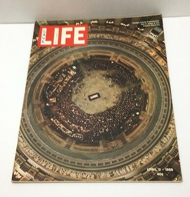 Vintage LIFE Magazine April 11 1969 Dwight D Eisenhower Lies In State in Capitol