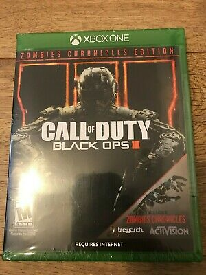 Call of Duty: Black Ops 3 III Zombie Chronicles Edition Xbox One Brand New