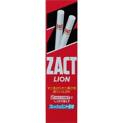 LION Japan ZACT nicotine stained Removal Toothpaste 150g White teeth Free ship