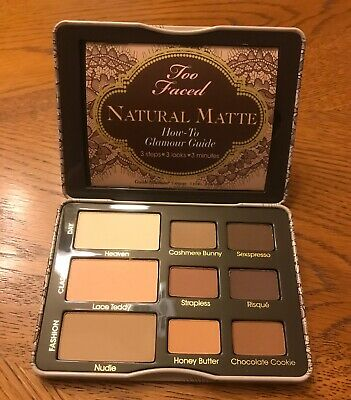 NWOB ❤AUTHENTIC❤ TOO FACED Natural Matte Eyeshadow Palette 2nd Edition! MSRP $38