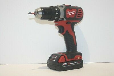 Milwaukee M18 1/2 inch Drill 2606- Red Lithium + CP1.5 Battery - FREE SHIPPING!