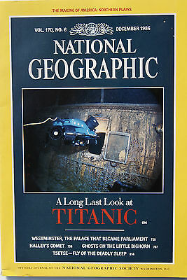 NATIONAL GEOGRAPHIC MAGAZINE - Décember 1986