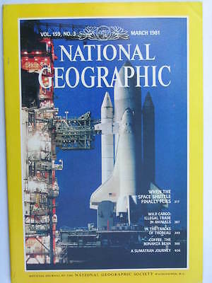 National Geographic Magazine - March 1981