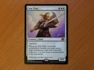MTG x1 Sun Titan Commander Anthology 2 Mythic Rare White NM//M