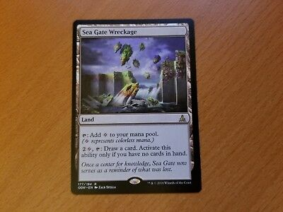 Oath of the Gatewatch ~ SEA GATE WRECKAGE rare Magic the Gathering MtG - NM