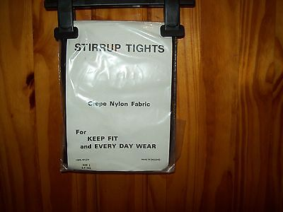 ***Dancing*** New Black Stirrup Tights Age 8-10 Size 3 Free P&P Uk Only***