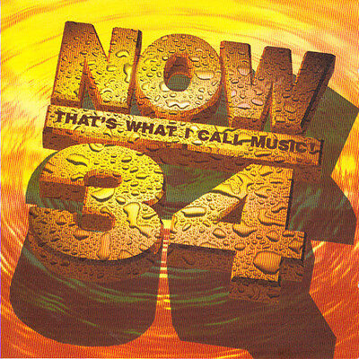 Various Artists - Now That's What I Call Music! 34 - UK CD album 1996