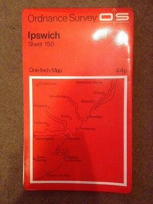 Old Ordnance Survey One-Inch Map Sheet 150