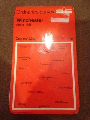 Old Ordnance Survey One-Inch Map Sheet 168