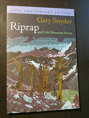 Riprap And Cold Mountain Poems By Gary Snyder Hardcover Rare