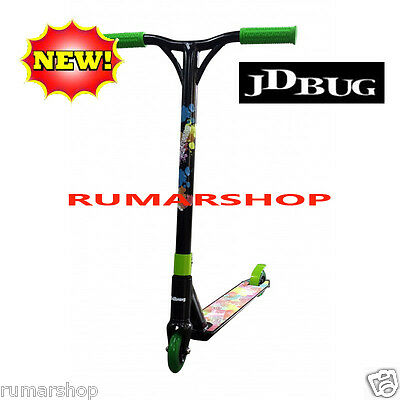 sale outlet Nieuw JD Bug MS 118 BMX STUNT SCOOTER ROLLER STEP black green