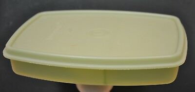 Vintage Tupperware Packette # 813 - 3  & # 814 - 8 Lid Divided Container