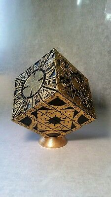 Gold Display Stand for Hellraiser Puzzle Box Custom Handmade Display Stand Only