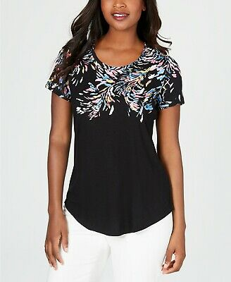 JM COLLECTION  SHORT-SLEEVE  TEE       SIZE XL NWT