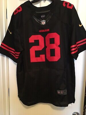 Top MENS NIKE SAN Francisco 49ers Vernon Davis Black NFL Football  free shipping