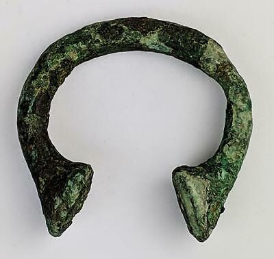 West African Bronze Manilla Currency Bracelet A/F