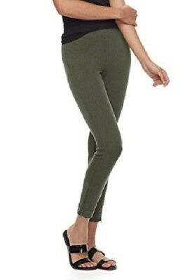 Assorted Utopia by HUE Womens Metro Skimmer Active Legging Pants w//Front Pocket