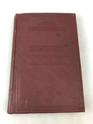 Vintage Book - Analytical Chemistry 1888 By W. Dittmar - New Edition