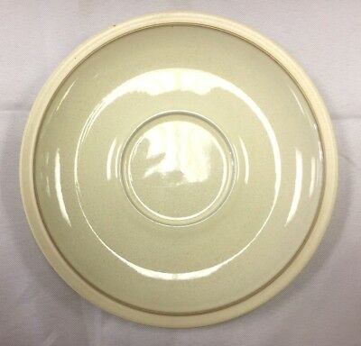 ~Denby Energy Breakfast Saucer White/White - Brand New - Rare Item