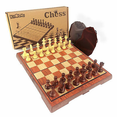 Vintage Magnetic Chinese Chess Board Table Games Set Pieces Gift Collectibles AU