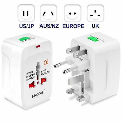 Compatible All In One Power Adapter Wall Charger Socket Travel Plug Converter
