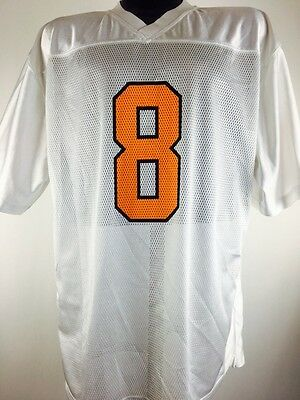 Vintage Tennessee Volunteers Jersey 8 L White Football 80s 90s