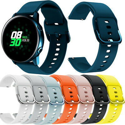Unisex Sport Soft Silicone Replacement Band Strap for Samsung Galaxy Watch Activ