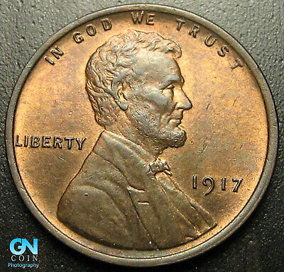 1917 P Lincoln Cent Wheat Penny  --  MAKE US AN OFFER!  #G7239