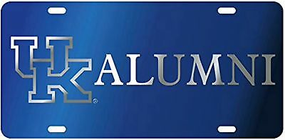 41258c527c3 UK Kentucky Wildcats Inlaid License Plate   Car Tag UK Alumni Blue Licensed  NCAA