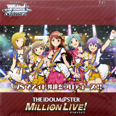 30572 weib Weiss Schwarz Booster Pack le IDOLM@STER Million Live 16 Pack Box