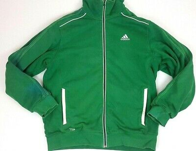 Adidas TS Supernatural Green Zip Up Mens Jacket Size L