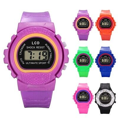 Boys Girls Kids Digital Watches LED Sport Wrist Watch for Children Students Gift