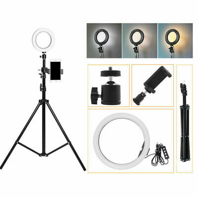 72 LED Ring Light Photo Studio Photography Video Dimmable Lamp For Camera Shoot