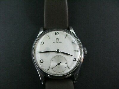 Omega Vintage Cal 265 Mens Wrist Watch. Original Face And Hands. Rare Watch