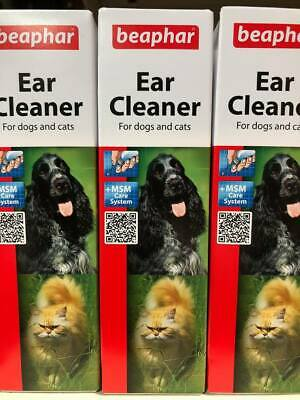 Beaphar Ear Cleaner Dog and Cat  Wax and Debris Removal Dogs and Cats