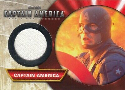Captain America First Avenger Captain America M-13 Memorabilia Card