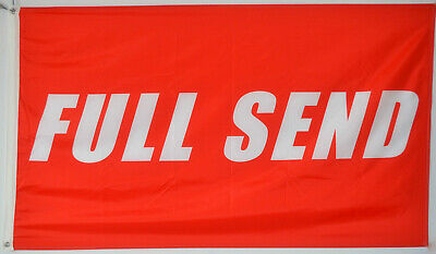Full Send Banner Flag 3x5 Feet Nelk Nelkboys for The Boys banner US shipper
