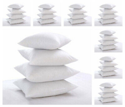Pack of 2 Extra Deep Filed 18x18 Inches Cushion Pads Inserts Fillers Scatters